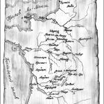 Верная шпага короля. Карта Франции.