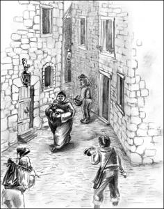 Верная шпага короля. Священник и гугеноты.