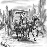 Верная шпага короля. Лошади понесли...