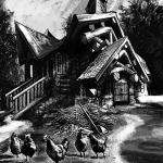 """Иллюстрация к книге-игре """"Капитан Морской ведьмы"""""""